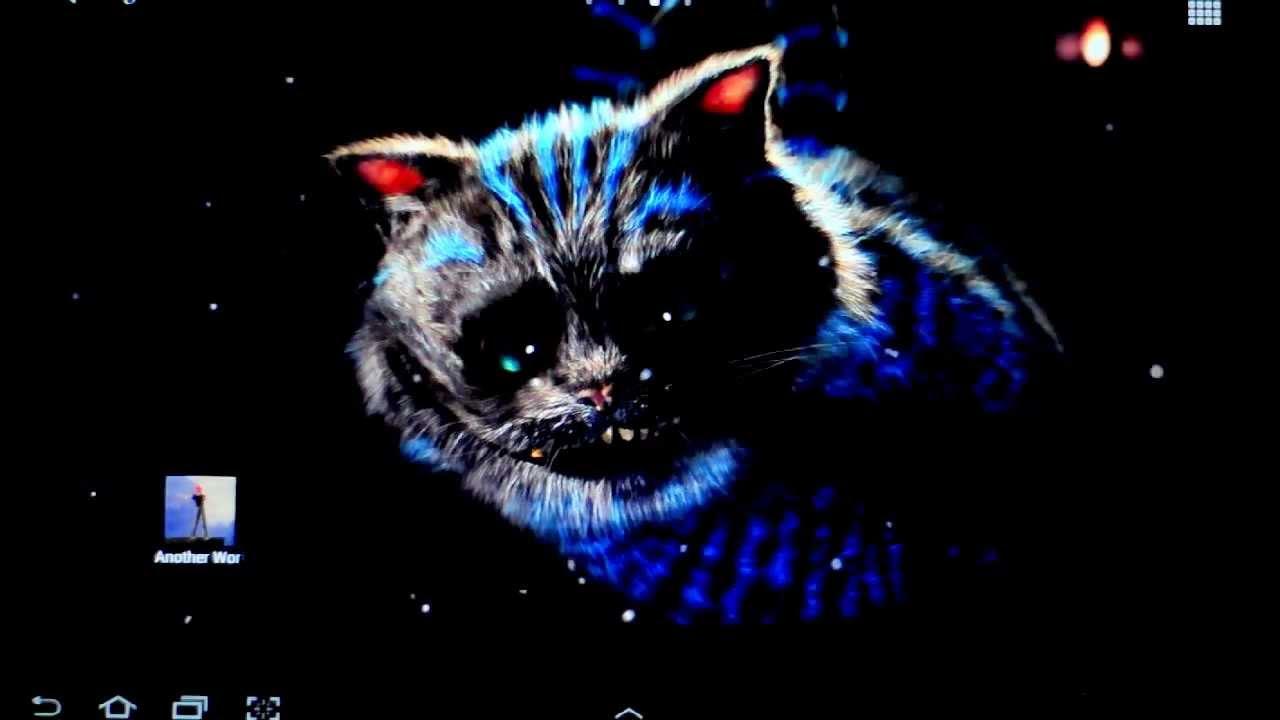 Cheshire Cat Live Wallpaper - YouTube