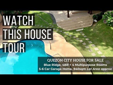 Quezon City House for Sale in Blue Ridge, QC House Tour