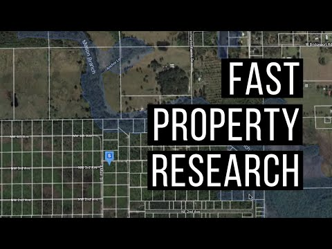 The Fastest Way To Research Any Property In The United States