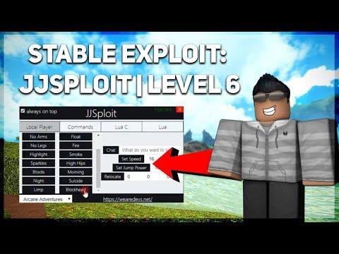 EXTREMELY STABLE [LEVEL 6] JJSPLOIT V4 *LUA & LUA C EXE.* LT2, JAILBREAK, MADCITY  CMDS [WORKING]