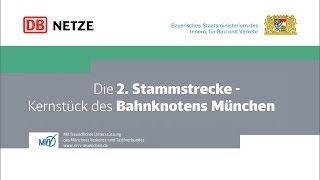 2. Stammstrecke München: Kernstück des Bahnknotens München