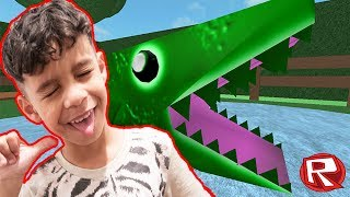 ESCAPE THE ZOO IN ROBLOX!!