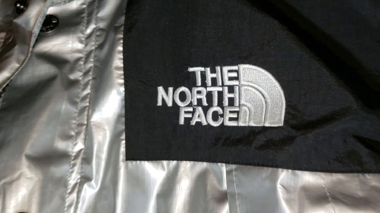North Face Supreme Metallic Mountain Parka - Spot A