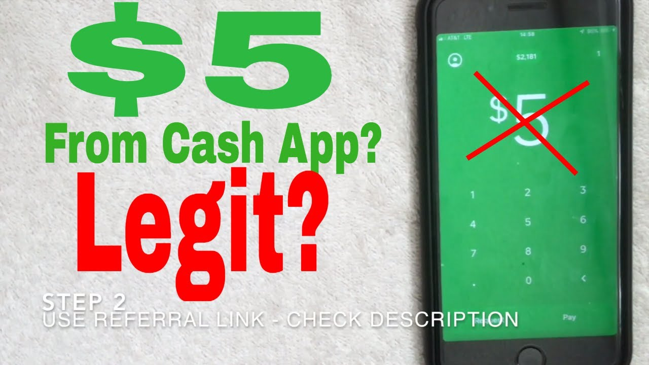Cash App Referral Code How to get $5 dollars for free! NEW