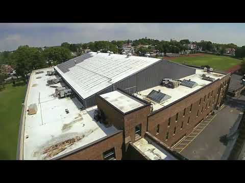Mt St Michael Academy solar installation time lapse