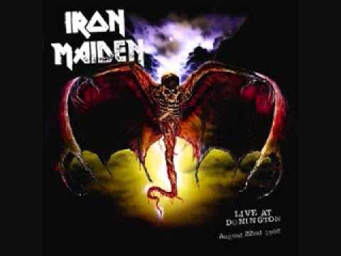 Клип Iron Maiden - Wrathchild (Live At Donington)