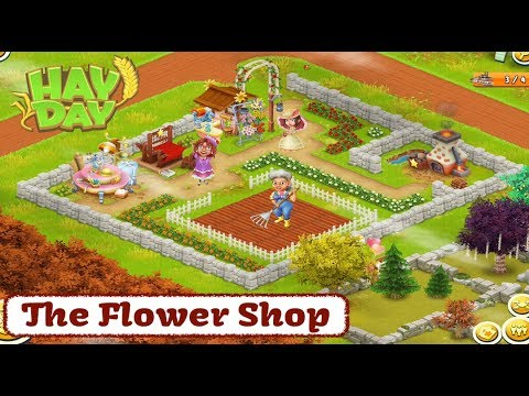 Hay Day - The Flower Shop