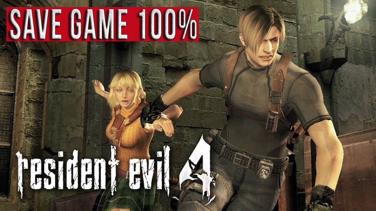 download save game tamat resident evil 4 pc