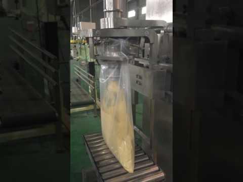 TP-PF-B11 big bag packing machine --8kg powder test