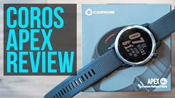 Coros Apex GPS Watch Review - A Trail and Ultra Runners Perspective - Compared to Garmin 945