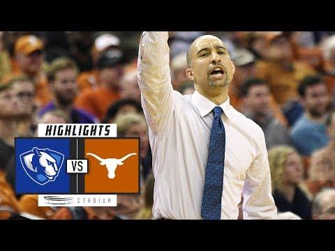 Eastern Illinois vs. Texas Basketball Highlights (2018-19) | Stadium