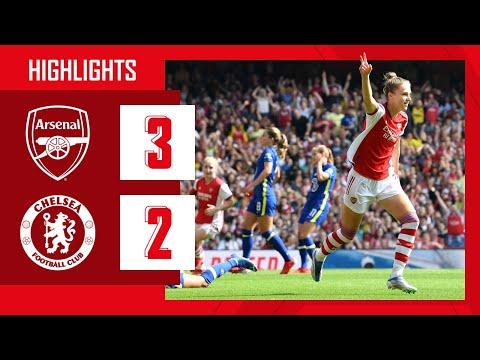 HIGHLIGHTS |  Arsenal vs Chelsea (3-2) |  Women's Super League |  Miedema, Mead (2)
