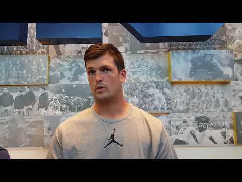 Michigan camp 2017: Wolverines QB Wilton Speight talks QB race, WRs and more