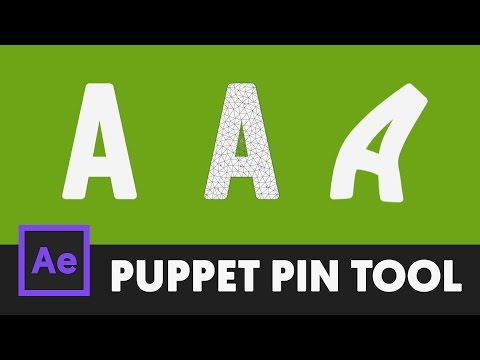 Easy Puppet Tool Shape Morphing - After Effects Tutorial (No Third Party Plugin) - T010
