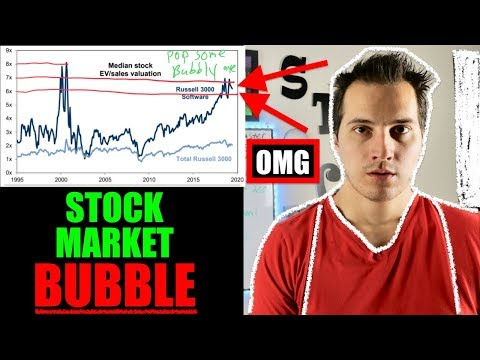 There Is A HUGE BUBBLE in the stock market I NEED TO SHOW YOU