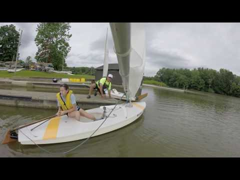 How To Launch A Sunfish Sailboat