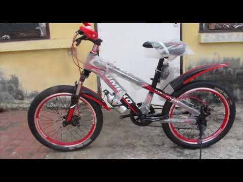 รีวิวจักรยานเด็ก Blazon มีโช๊ค 7 เกียร์ ดิสส์เบรคหน้า-หลัง by MITBIKE