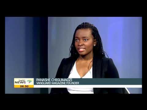 Panashe Chigumadzi founder and editor of Vanguard Magazine