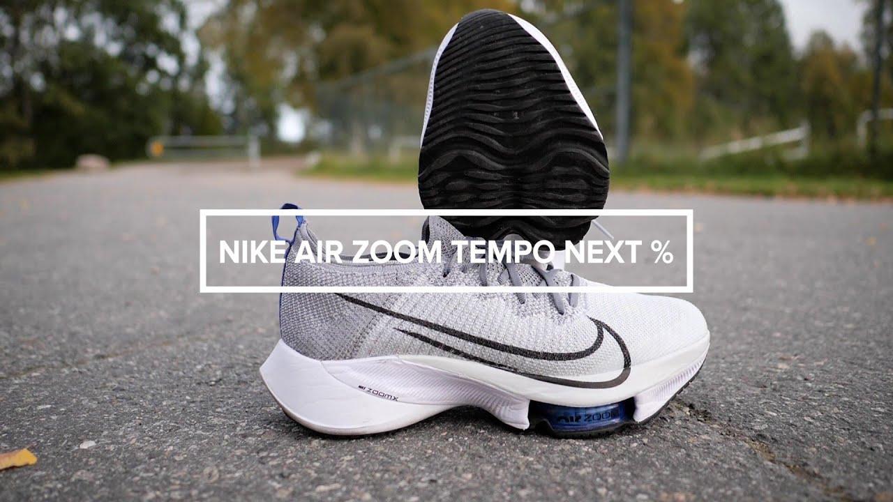 tiempo Legítimo Atlas  Test | Nike Air Zoom Tempo Next% - YouTube