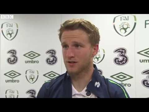 Republic of Ireland v Netherlands - Post Match Interview - Eunan O'Kane (27/5/16)