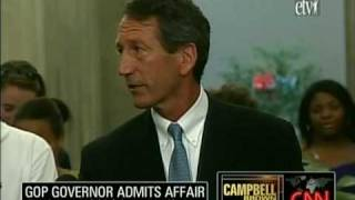 Mark Sanford in His Own Words: Some of his 18 min Ramblings of Apologies, Excuses and Affair Reveal