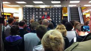 Alan Partridge Book Signing - I, Partridge : We Need To Talk About Alan - Norwich 5/10/11