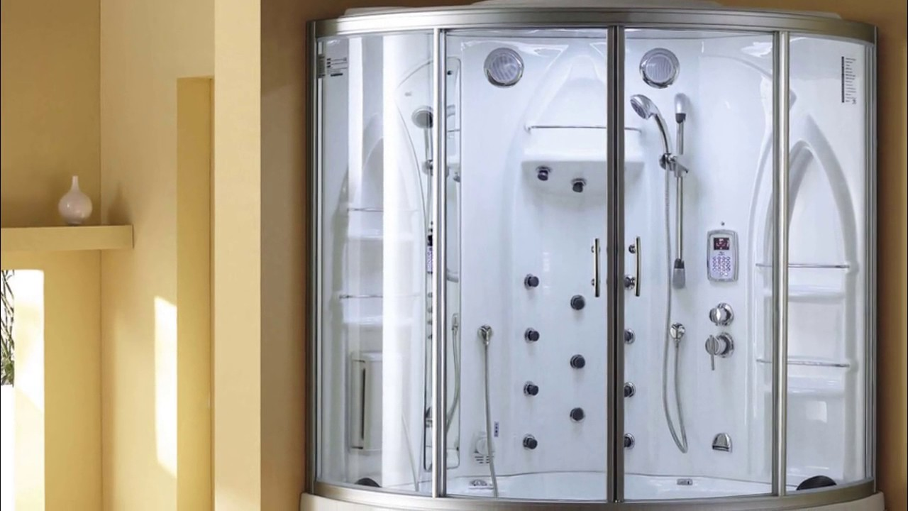 Steam Room Shower for Home Designs - YouTube