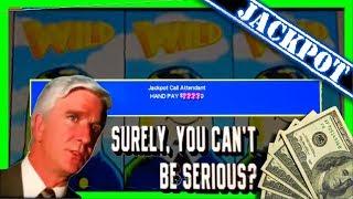 JACKPOT! ✈ HAND PAY! MASSIVE BETS! ✈ Upto $45/SPIN! ✈ Airplane Slot Machine Winning W/ SDGuy1234