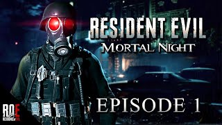 RESIDENT EVIL 2: MORTAL NIGHT (Definitive Edition) Episode 1 || FULL PLAYTHROUGH