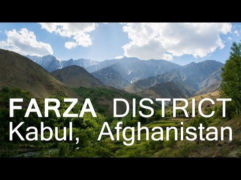 Farza District Waterfall, Kabul Afghanistan