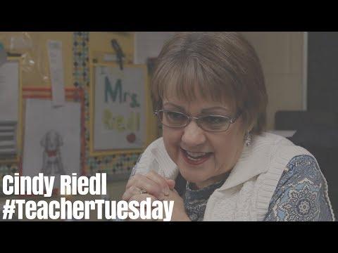 #TeacherTuesday | Cindy Riedl