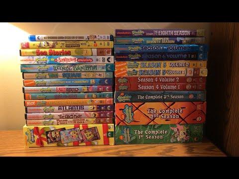 My Complete SpongeBob DVD Collection