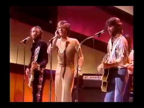 The Bee Gees Nights On Broadway -live  1975 w/Lyrics