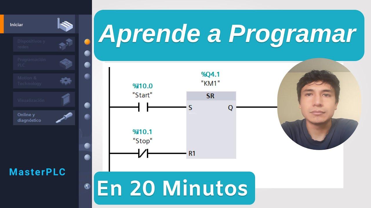 1 3 Aprende A Programar Un Plc En 20 Minutos Tia Portal Youtube