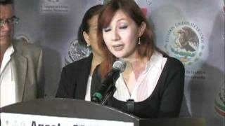 100811 Senadoras Blanca Judith Díaz Delgado y Beatriz Zavala Peniche