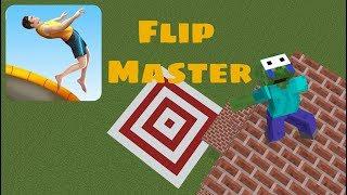 Monster School:FLIP MASTER CHALLENGE-MINECRAFT ANIMATION