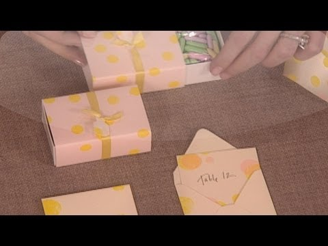 Wedding Craft Ideas - DIY Weddings - Martha Stewart Weddings