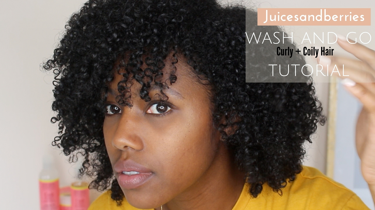 how to wash and style curly hair wash and go curly amp coily hair solution 7485
