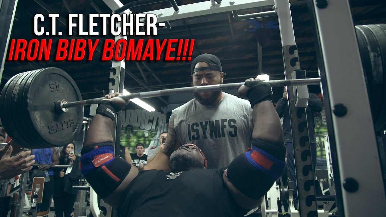 c.t. fletcher- iron biby bomaye!!! - youtube