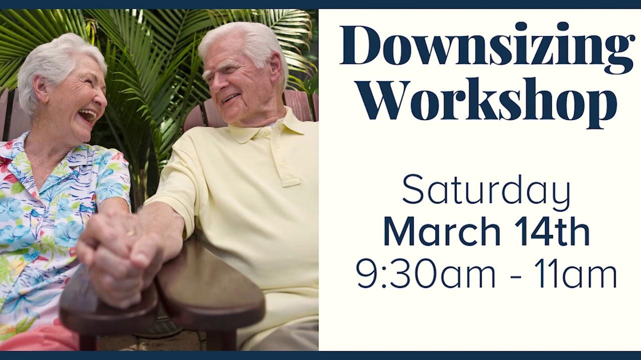 Seattle Downsizing Workshop 3/14/2020