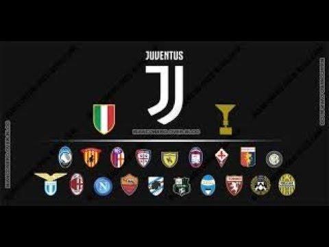La Mia Classifica Finale Serie A 2017 2018 Youtube