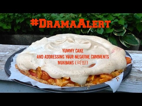 #DramaAlert Yummy Cake And Addressing Your Negative Comments | Gay Family Mukbang (먹방) - Eating Show