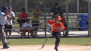 aaron highlights west boca panthers 9u travel baseball fall 2010