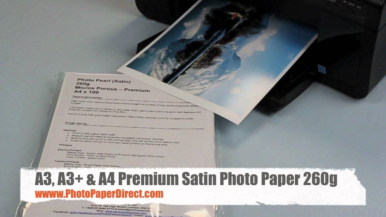 300gsm A4 Pinnacle Premium Lustre Inkjet Photo Paper 100 Sheets