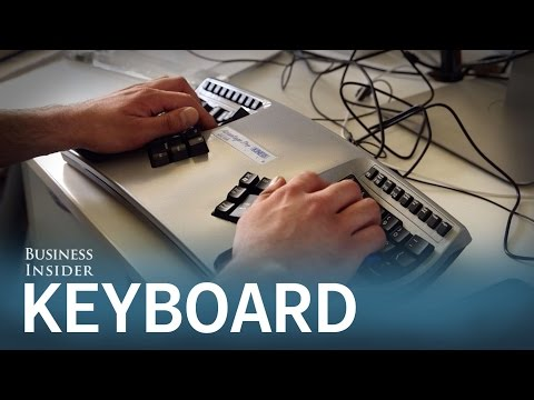 This unconventional keyboard is a must-have for power-programmers