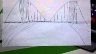 How to draw bridge