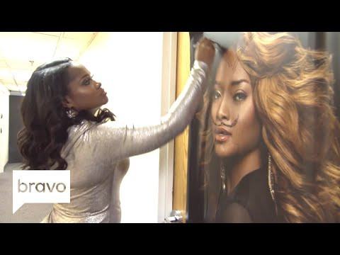 Married to Medicine: Dr. Heavenly Draws a Mustache & Horns on Mariah (Season 5, Episode 16) | Bravo