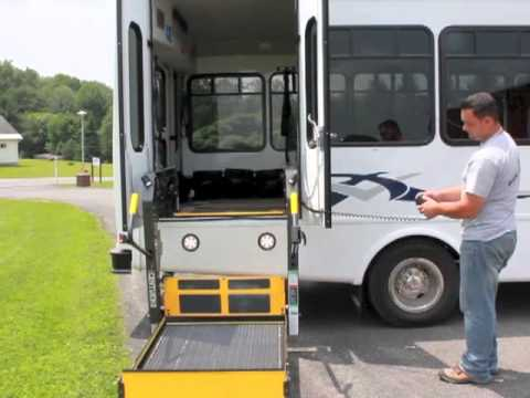 wheelchair lift bus. Fine Lift Century2 Wheelchair Lift  Don Brown Bus Sales Inside B