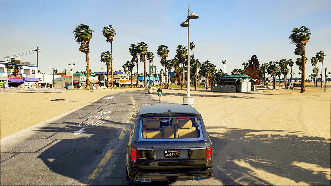 GTA 5 NEW ULTRA REALISTIC GRAPHICS MOD 2019 (4K)