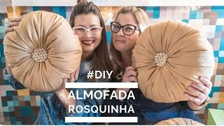 Aprenda fazer Almofada Rosquinha com tecido e frasco de máscara capilar